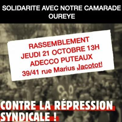 STOP AUX DISCRIMINATIONS SYNDICALES CHEZ ADECCO!