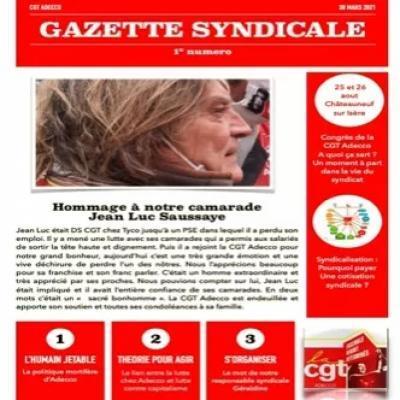 Gazette Syndicale N°1